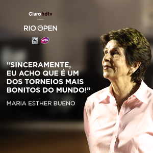 Rio Open tribute to Maria Bueno