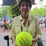 Maria Bueno announced the Rio Open at the US Open