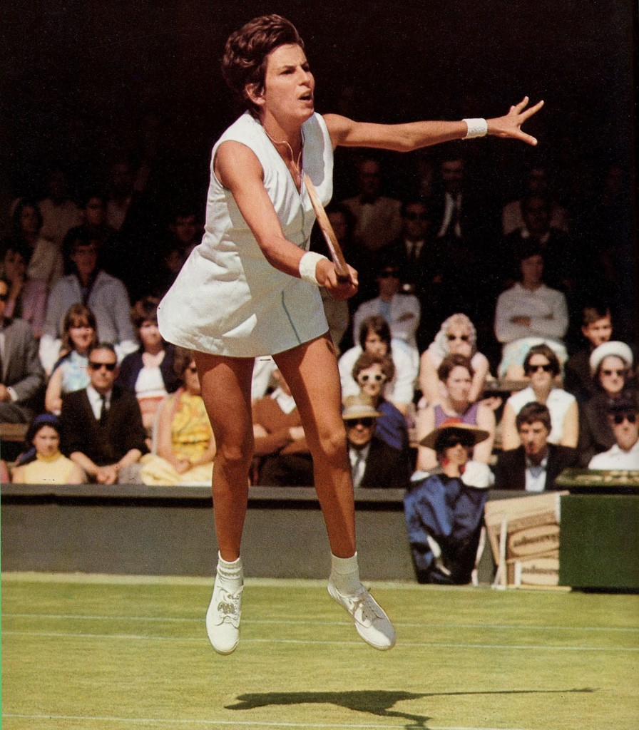Maria Bueno on Wimbledon's famous No 1 Court of old