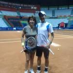 Maria Bueno and Renan Hanayma