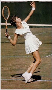 Maria Bueno was a fashion icon