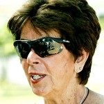 Maria Bueno tennis legend and TV personality