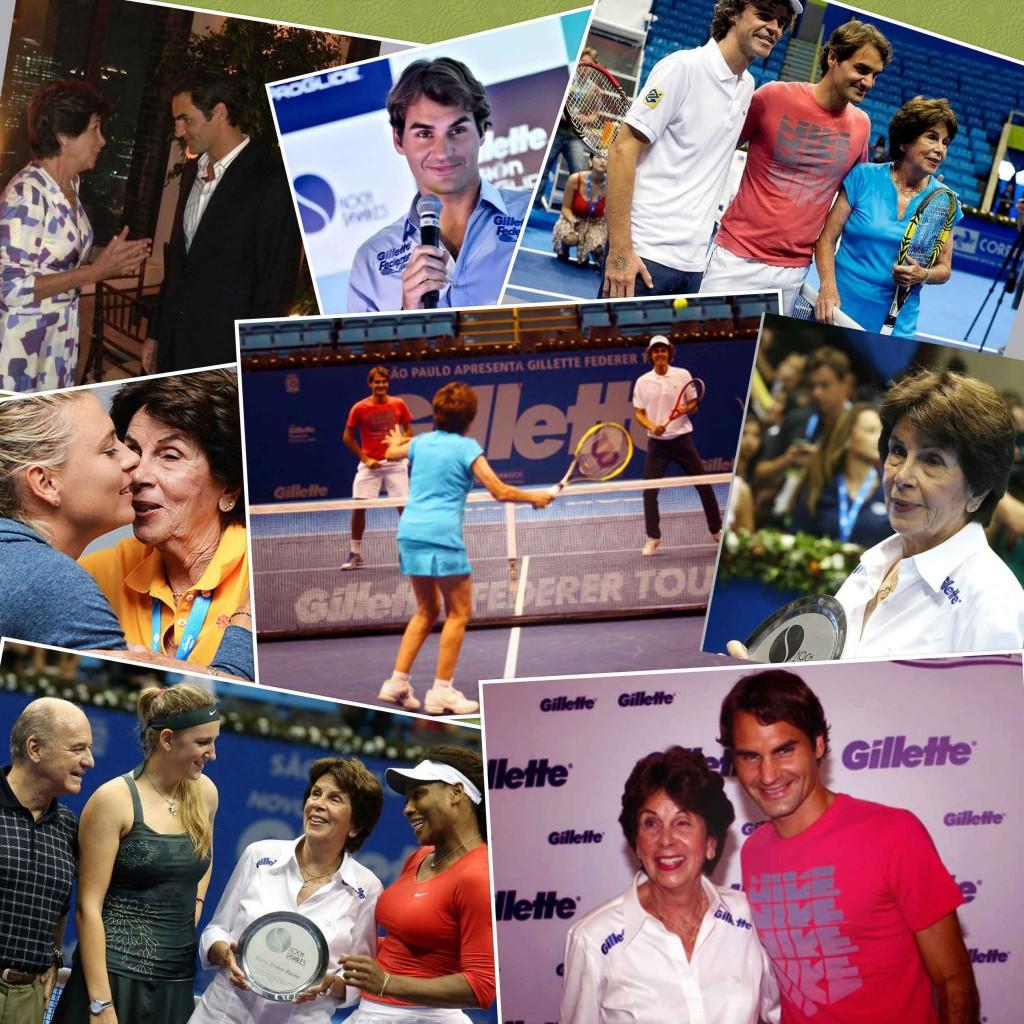 2012 Roger Federer Gillette Tour