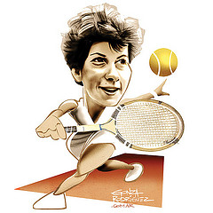 We include this wonderful caricature of Maria for no particular reason other than it is new to the website!