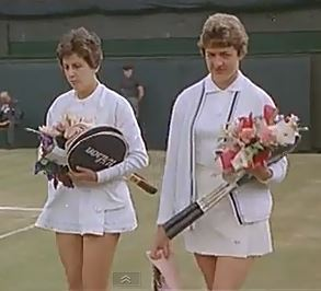 Maria Bueno and Margaret Court