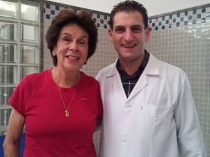 Maria Bueno and Marcio Murad