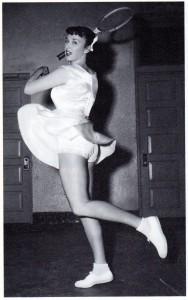 Gussie Moran's famous lace panties