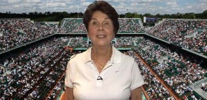 Maria Bueno has been watching Roland Garros and is impressed with what she has seen this year.