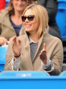Maria Sharapova supported boyfriend Grigor Dimitrov at Queen's