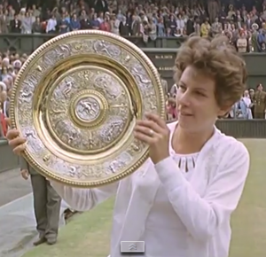 Maria Bueno wins Wimbledon in 1964 after one of the greatest matches of all-time