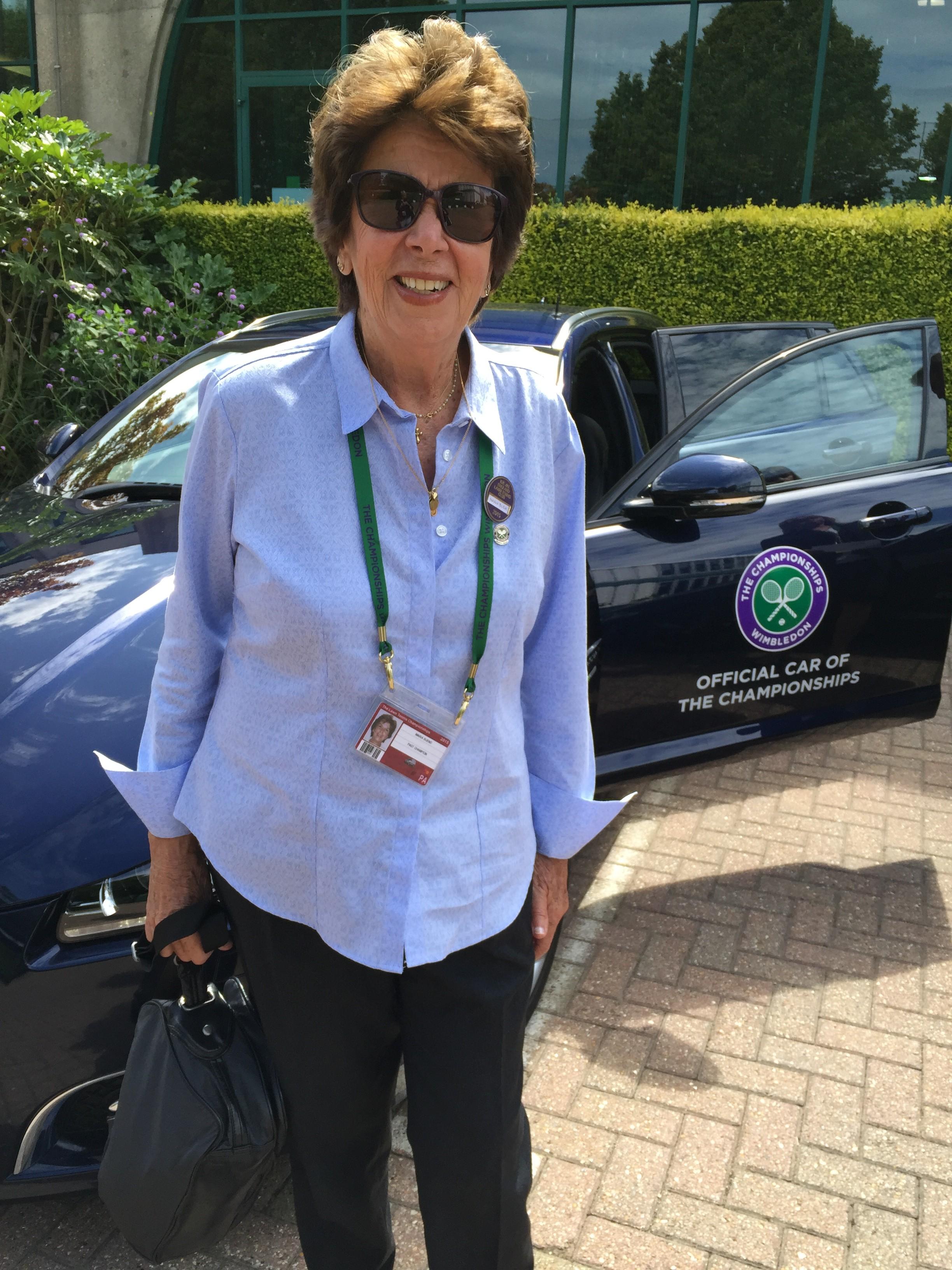 The first week of Wimbledon