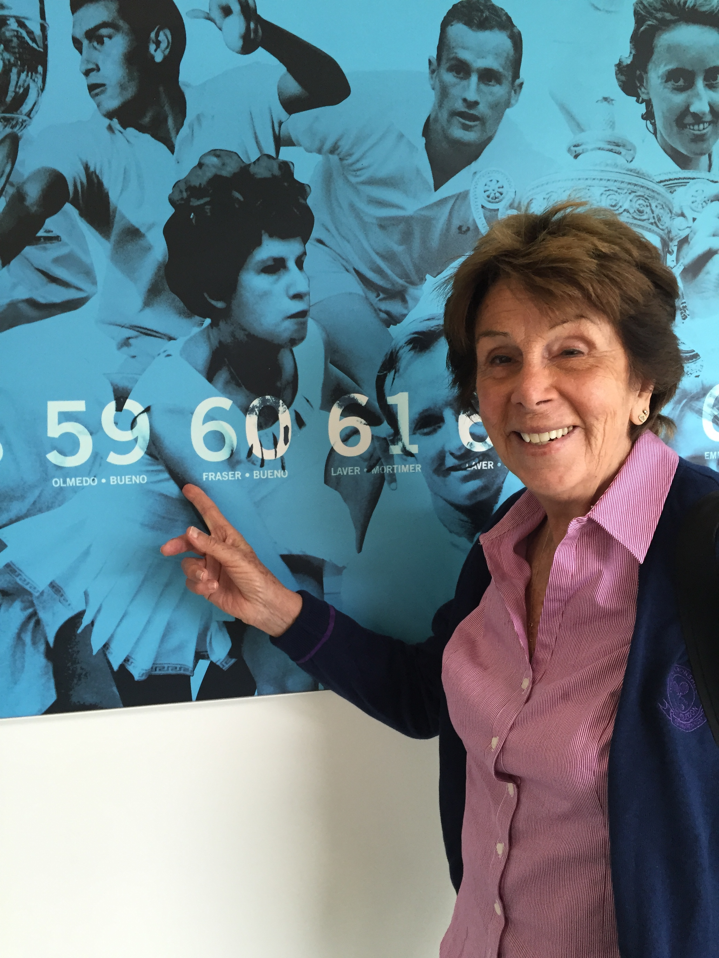 Post Wimbledon for Maria Esther Bueno