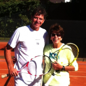 Mauro Menezes and Maria Esther Bueno