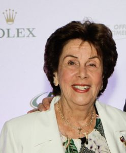 Maria Esther Bueno got in the fast lane...