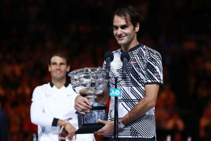 Federer admitted he would have been happy with a draw against Rafa!