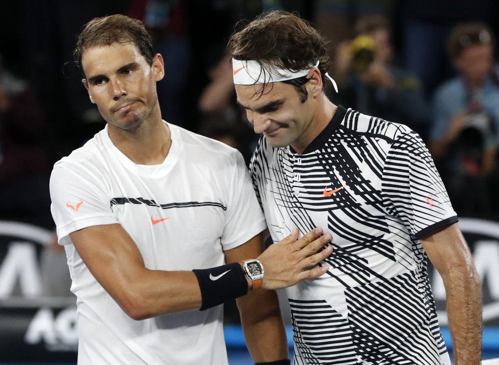 Federer wins in five over Nadal in the AO Final (AP Photo:Dita Alangkara)