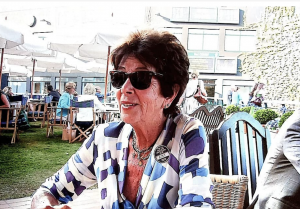 Maria Esther Bueno at Wimbledon in 2014